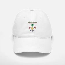 Maldives Coat Of Arms Baseball Baseball Cap