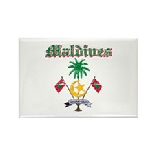 Maldives Coat Of Arms Rectangle Magnet