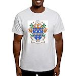 Lees Coat of Arms Ash Grey T-Shirt