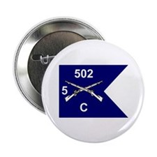 C Co. 5/502nd Button