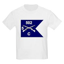 C Co. 5/502nd Kids T-Shirt