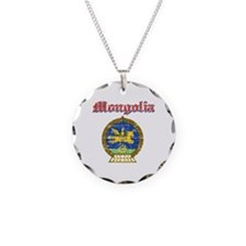 Mongolia Coat Of Arms Necklace