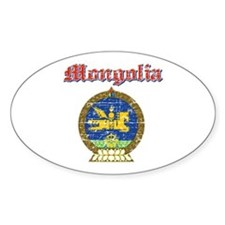 Mongolia Coat Of Arms Decal