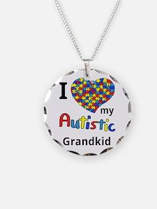 Autistic Grandkid Necklace