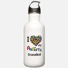 Autistic Grandkid Water Bottle