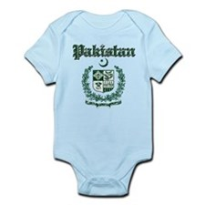 Pakistan Coat Of Arms Infant Bodysuit