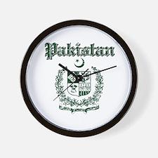 Pakistan Coat Of Arms Wall Clock