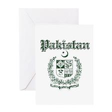 Pakistan Coat Of Arms Greeting Card