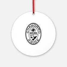 chamorro pride logo Ornament (Round)