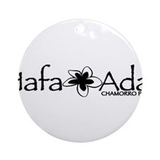 Hafa Adai from Chamorro Pride Ornament (Round)