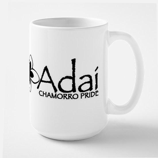 Hafa Adai from Chamorro Pride Large Mug