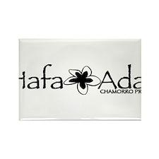 Hafa Adai from Chamorro Pride Rectangle Magnet