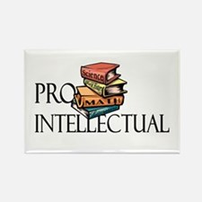 Pro-Intellectual<br> Rectangle Magnet