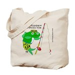 Combat-Fishing (R) Tote Bag