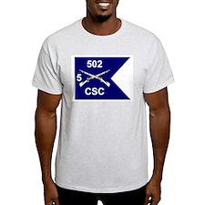 CSC 5/502nd Ash Grey T-Shirt