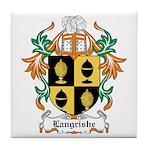 Langrishe Coat of Arms Tile Coaster