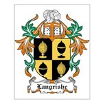 Langrishe Coat of Arms Small Poster