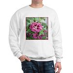 Purple Malva Cluster Sweatshirt