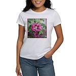 Purple Malva Cluster Women's T-Shirt