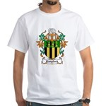 Langford Coat of Arms White T-Shirt