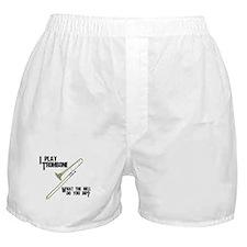 Trombone Attitude Boxer Shorts
