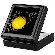 Surreal Tennis Keepsake Box