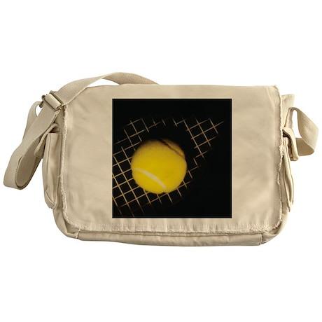 Surreal Tennis Messenger Bag
