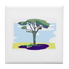 Tree Tile Coaster