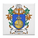 Lamont Coat of Arms Tile Coaster