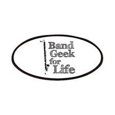 Bass Clarinet Band Geek Patches