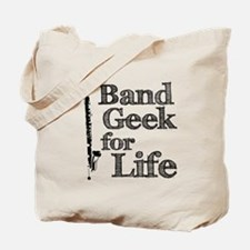 Bass Clarinet Band Geek Tote Bag