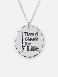 Bass Clarinet Band Geek Necklace
