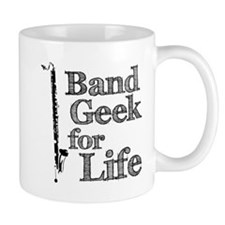 Bass Clarinet Band Geek Mug