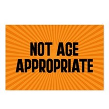 Not Age Appropriate Postcards (Package of 8)