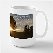 Joy N the Morning Large Mug