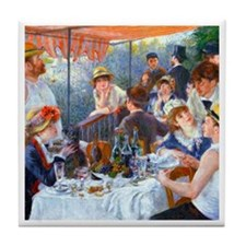 Renoir - Boating Party Tile Coaster