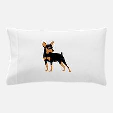 Cartoon Miniature Pinscher 1 Pillow Case