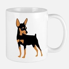 Cartoon Miniature Pinscher 1 Mug