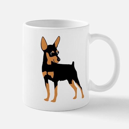 Cartoon Miniature Pinscher 1 Mug
