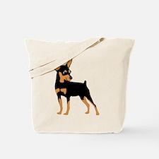 Cartoon Miniature Pinscher 1 Tote Bag