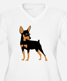 Cartoon Miniature Pinscher 1 T-Shirt