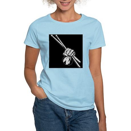 Drummers Rock! Women's Light T-Shirt