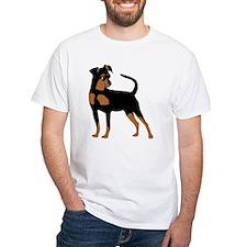 Cartoon Miniature Pinscher 2 Shirt