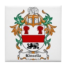 Kinsella Coat of Arms Tile Coaster