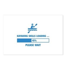Kayaking Skills Loading Postcards (Package of 8)