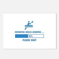 Kayaking Skills Loading Postcards (Package of 8)