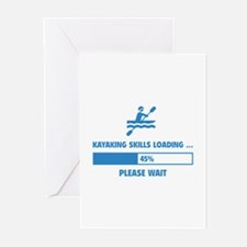 Kayaking Skills Loading Greeting Cards (Pk of 20)