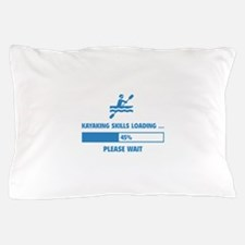 Kayaking Skills Loading Pillow Case