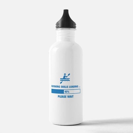Kayaking Skills Loading Water Bottle