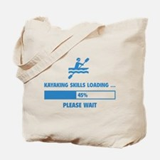 Kayaking Skills Loading Tote Bag